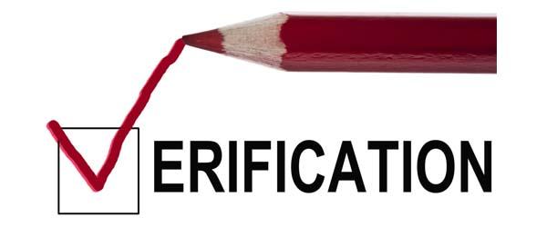 Verification of chauffeur
