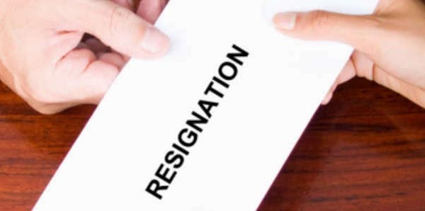 Sample format of Resignation letter due to illness