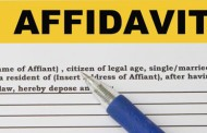 affidavit format for work experience