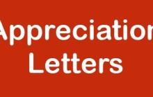 Appreciation towards Excellent Customer Service